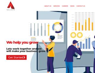 avidexinfotech.com screenshot