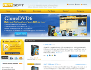 aviosoft.com screenshot