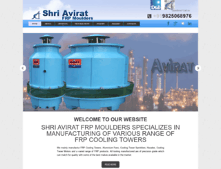 aviratcoolingtower.com screenshot