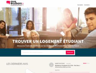 avis-etudiant.fr screenshot