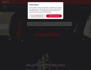 avis.com.my screenshot