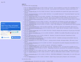 avis73.fr screenshot