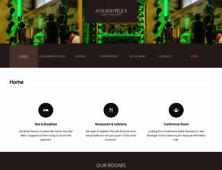 avishotel.ro screenshot