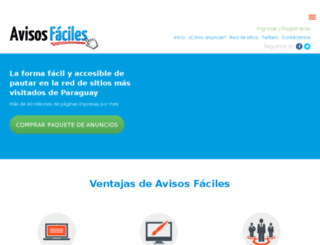 avisosfaciles.com screenshot
