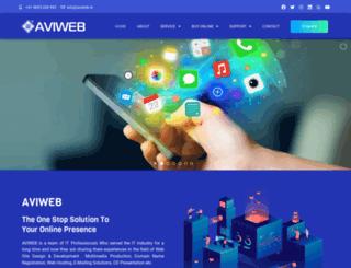 aviweb.in screenshot