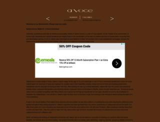 avocerestaurant.com screenshot