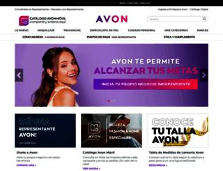 avon.com.gt screenshot