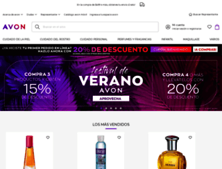 avon.mx screenshot