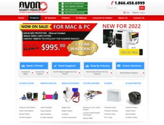 avonsecurityproducts.com screenshot