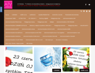avonsklep.com.pl screenshot