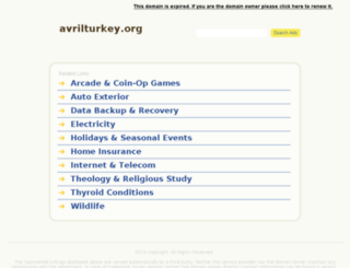 avrilturkey.org screenshot