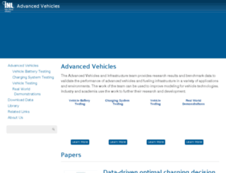 avt.inel.gov screenshot
