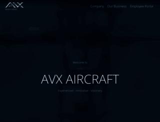 avxaircraft.com screenshot