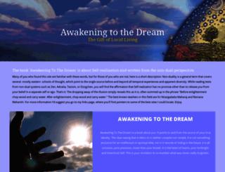 awakeningtothedream.com screenshot