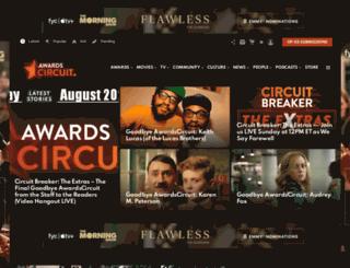 awardscircuit.com screenshot
