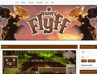 awayflyff.com.br screenshot