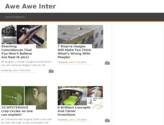 aweaweinter.com screenshot