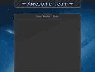 awesome-team.com screenshot