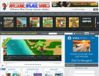 awesomearcadegames.org screenshot