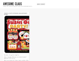awesomeclaus.com screenshot