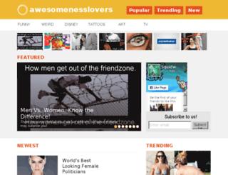 awesomenesslovers.mobi screenshot