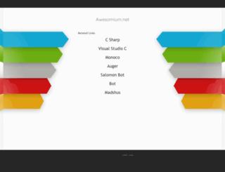 awesomium.net screenshot
