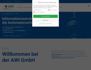 awi-info.de screenshot