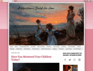 awisewomanbuildsherhome.com screenshot