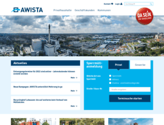 awista-duesseldorf.de screenshot