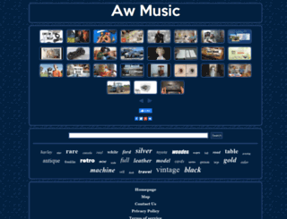 awmusic.ca screenshot