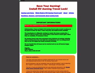 awninglock.com screenshot