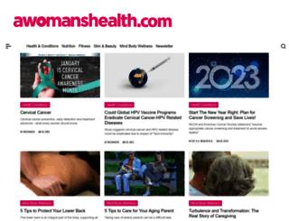 awomanshealth.com screenshot