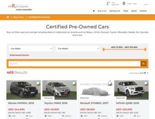awrcertifiedcars.com screenshot