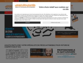 axauto-parts.com screenshot