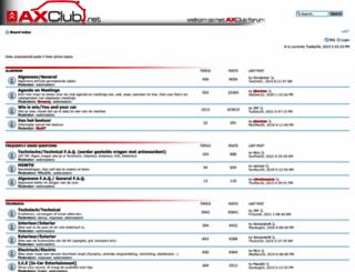 axclub.net screenshot