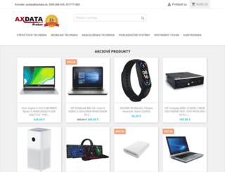 axdata.sk screenshot