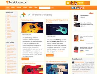 axebition.com screenshot