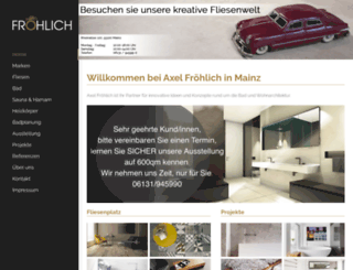 axel-froehlich.com screenshot