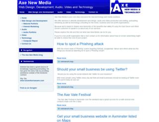 axenewmedia.com screenshot