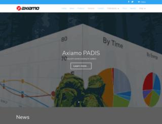 axiamo.com screenshot