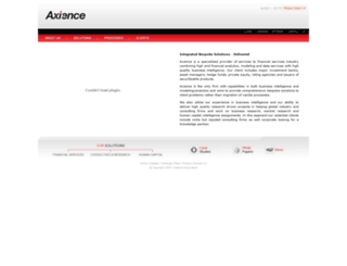 axience.com screenshot