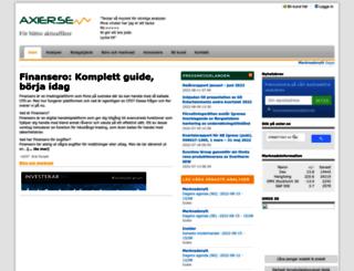 axier.se screenshot