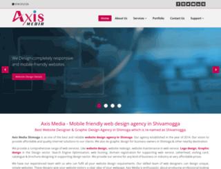 axismedia.co.in screenshot
