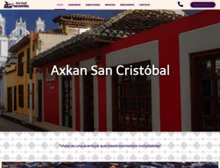 axkanhotel.com screenshot