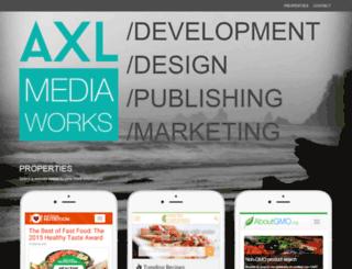 axlmediaworks.com screenshot