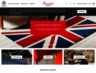 axminster-carpets.co.uk screenshot