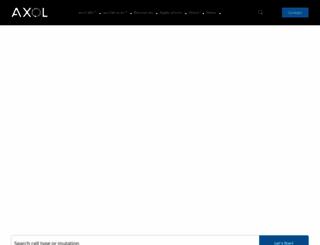 axolbio.com screenshot
