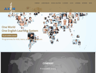 axon-global.com screenshot