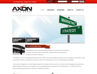 axonmediagroup.com screenshot