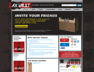 axvault.com screenshot